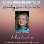 Interview with Carole McCulloch on tools to help with  your genealogy research