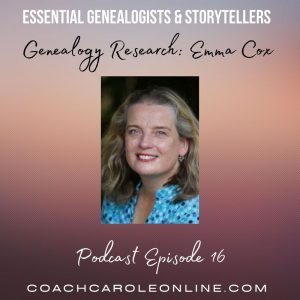Read more about the article Interview with Carole McCulloch on tools to help with  your genealogy research