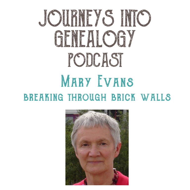 Breaking through brick walls with Mary Evans